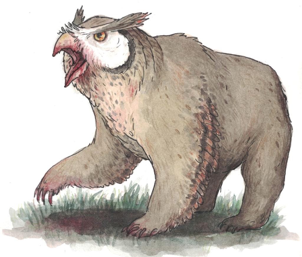Ein DnD Eulenbär